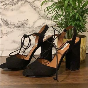 Steve Madden heeled open toe sandals